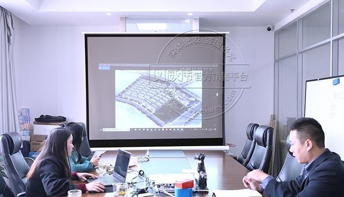 水电远程抄表系统--福建漳州客户来访