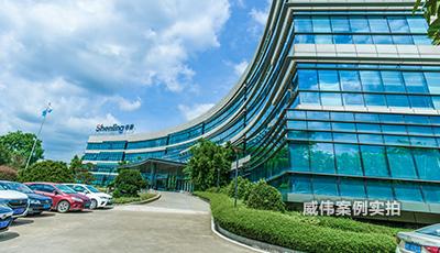 广东申菱环境股份工业园区远程智能抄表电表应用案例